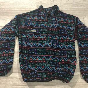 🧸Columbia • Vintage Aztec Pullover Fleece